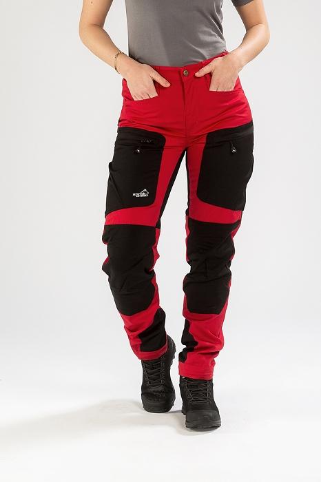 Arrak Outdoor Ladies Active Stretch Pants - Red cd9d5a277e0af