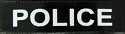 High Reflective POLICE Badge 1.5