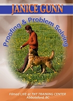 Janice Gunn s Proofing and Problem Solving Obedience Training DVD