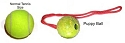RedLine K9 PUPPY EURO SMALL Rubber Ball - Color May Vary