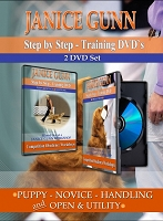 Janice Gunn's Step by Step Training DVD Set (Novice through Utility)