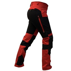 Arrak Outdoor Ladies Active Stretch Pants - Red
