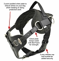 Redline K9 Yurkiw Protection and tracking Dog Harness