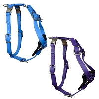 Redline K-9 Biothane Biothane Harness - Light Blue or Purple
