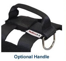 RedLine K9 Attachable Handle for Tactical Duty Dog Harness